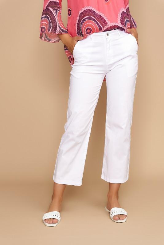 Pantaloni casual cropp F2153-1 Albi