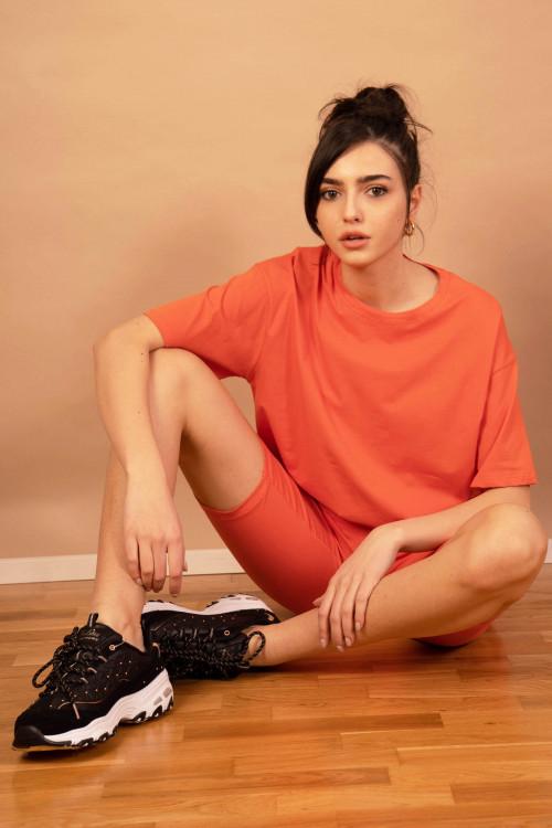 Trening dama de vara 3739 Orange