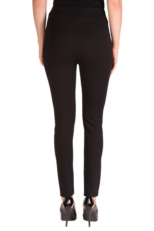 Pantaloni negri din tricot X035 NG