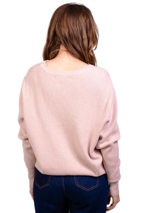 Pulover dama roz lejer 9214 R