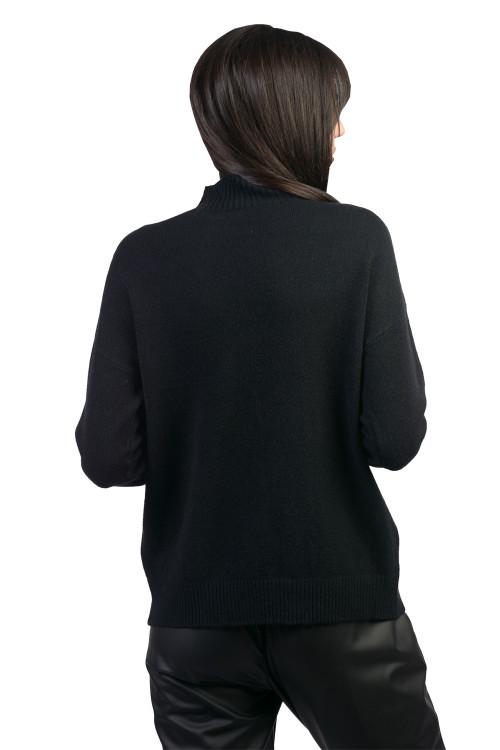 Pulover dama negru B230 NG
