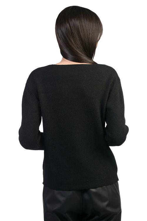 Pulover dama negru B1133 NG