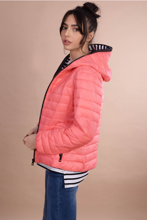 Jacheta dama cu fermoar circular AT8202GT