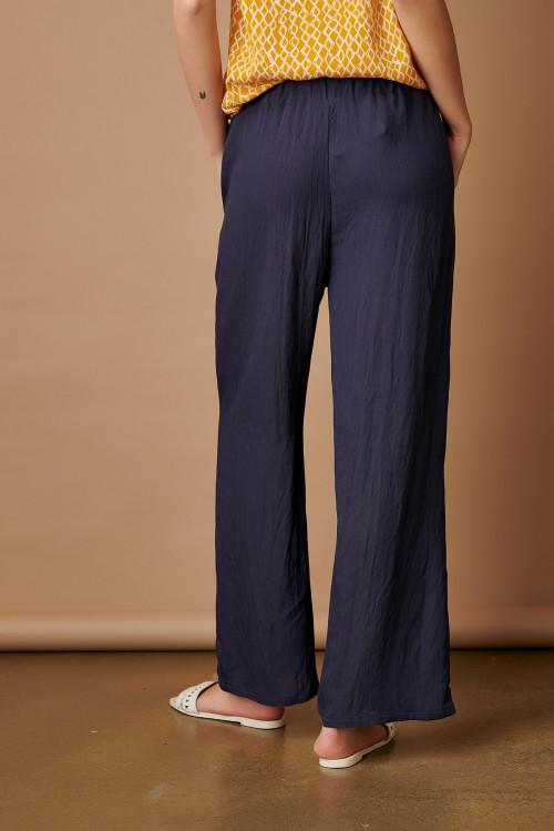 Pantaloni dama lejeri 112775 Bleumarin